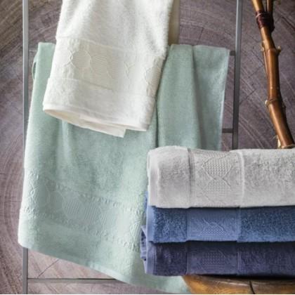 MARSILYA bambusové uteráky, osušky svetlosivé
