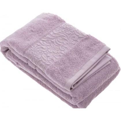 VALENCIA bambusové uteráky, osušky tmavo fialové (EFLATUN