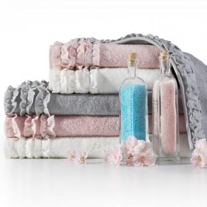 Luxusný uterák, osuška Laura - sivá