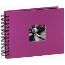 Hama album klasický špirálový FINE ART 24x17 cm, 50 strán, ružový