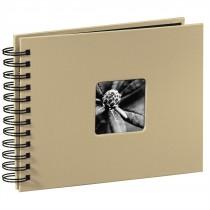 Hama album klasický špirálový FINE ART 24x17 cm, 50 strán, taupe