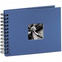 Hama album klasický špirálový FINE ART 24x17 cm, 50 strán, azúrový