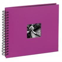 Hama album klasický špirálový FINE ART 28x24 cm, 50 strán, ružový