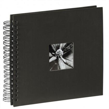 Hama album klasický špirálový FINE ART 28x24 cm, 50 strán, čierny