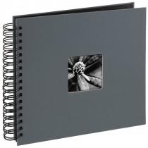 Hama album klasický špirálový FINE ART 28x24 cm, 50 strán, šedý