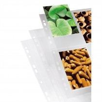Hama Photo Sleeves, DIN A4, 4-8 Photos in 10x15 cm Format, clear, 10 pcs.