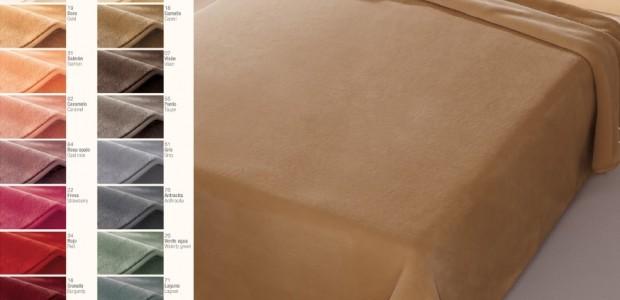 Nové odtiene - španielske deky Belpla