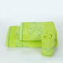 Detský uterák, osuška KIND zelená