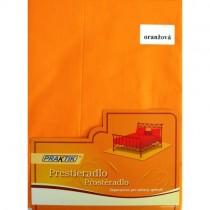 Bavlnené klasické prestieradlo oranžová