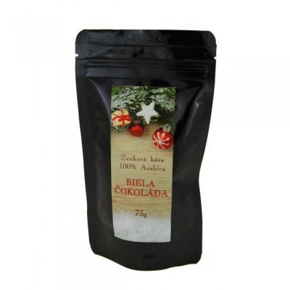 Káva zrnková ochutená Biela čokoláda 70g