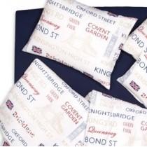 Posteľné obliečky ENGLAND Britská vlajka 3006/1