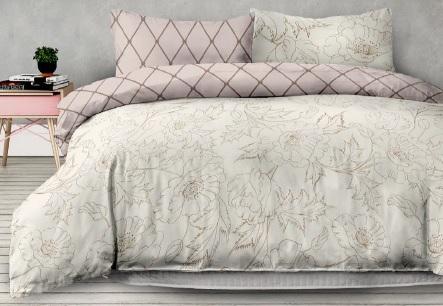 53e9ee8dcbdb3 Flanelové posteľné prádlo AmeliaHome ARTNOUVEAU