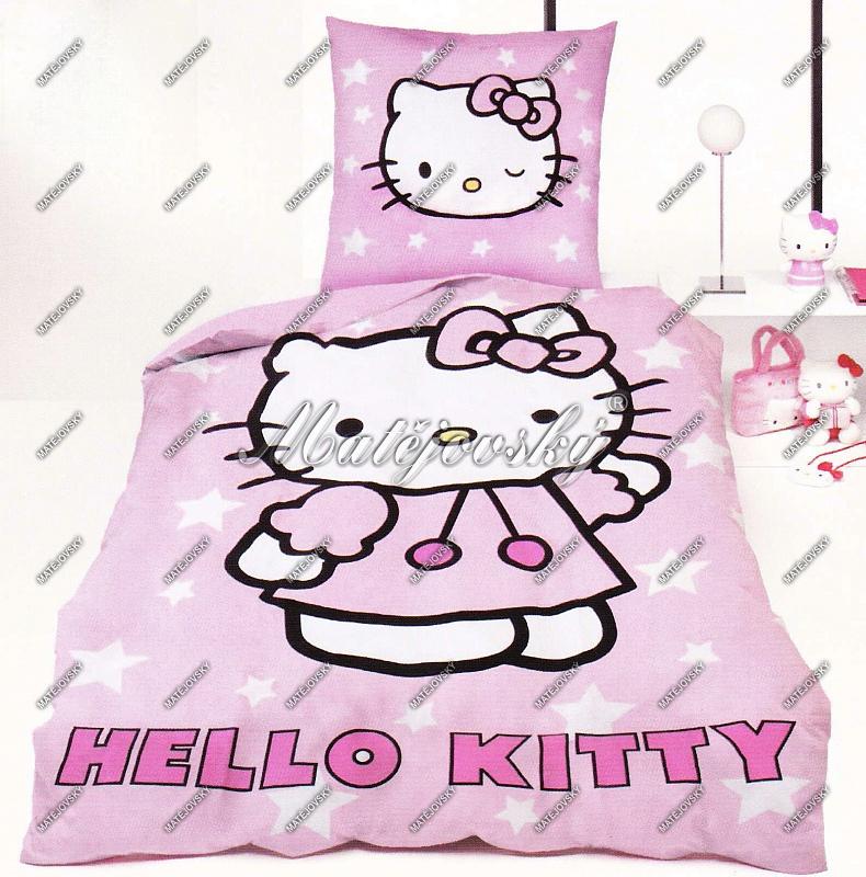 ![CDATA[Matějovský Posteľné obliečky Hello Kitty ]]