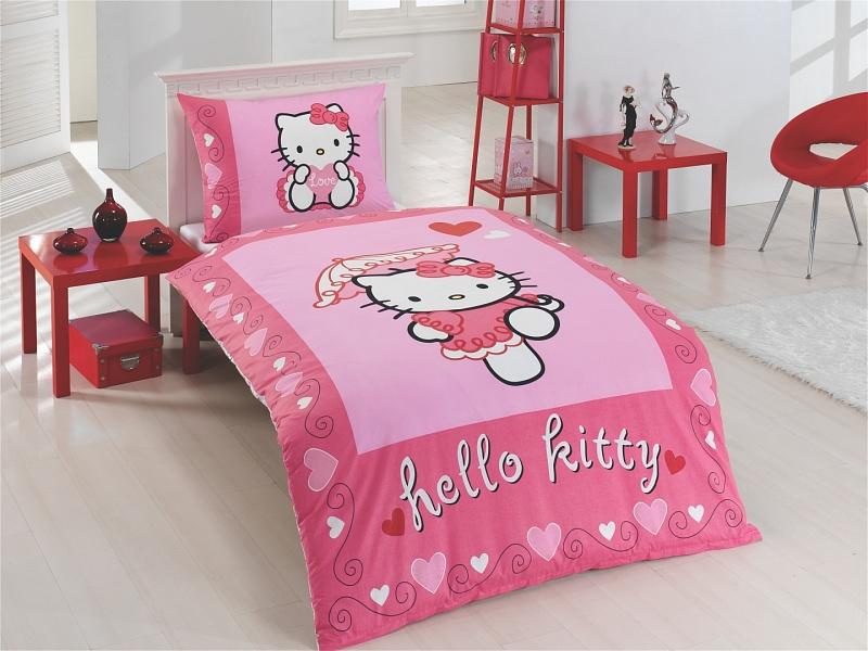 ![CDATA[Matějovský Posteľné obliečky Hello Kitty Moulin Rouge ]]