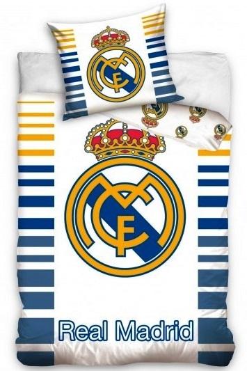 fa4065666 Posteľné obliečky Real Madrid stripe crest 2342
